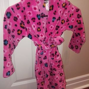 Other - Kids floral bath robe soft!